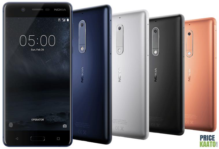Nokia 5 Images