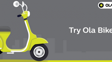 Ola Bike Offer: Get Ola Bike Ride At Rs 1 Only (See How)