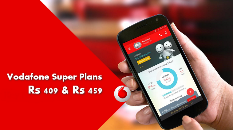 Vodafone 409 & 459 Super Plan Details: Unlimited Calls, Data & SMS