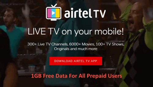 Airtel TV App Offer
