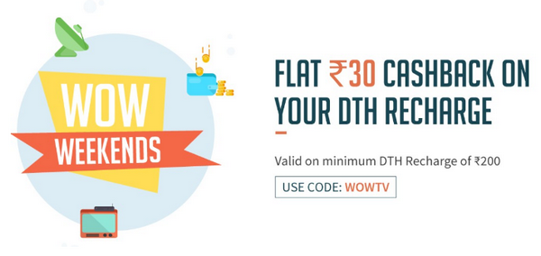 FreeCharge DTH Offer WOWTV