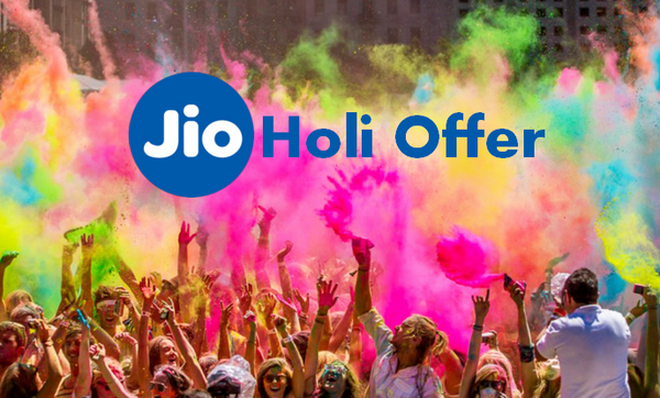 Jio Holi Offer 2018