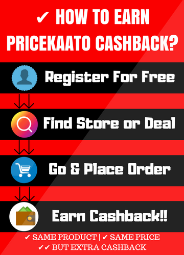 How To Earn PriceKaato Cashback On Online Shopping