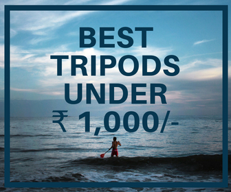 Best Tripods Under Rs 1000 For Youtubers & Vloggers