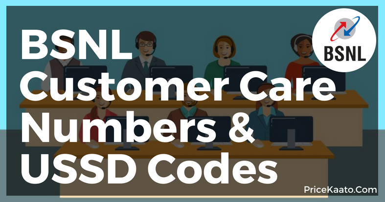 BSNL Customer Care Number USSD Codes Email Id Website