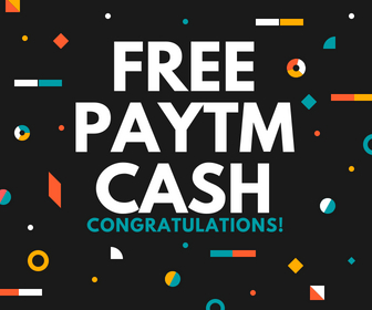 Free Paytm Cash Apps