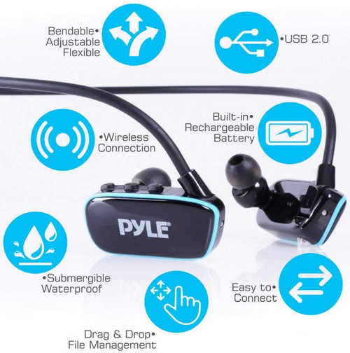 Pyle Flextreme Best Waterproof Headphones For Swimming In India