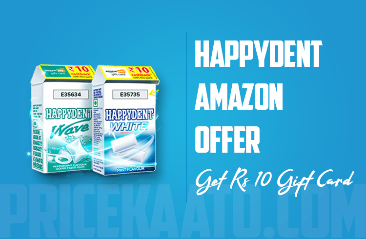 Happydent Amazon Offer