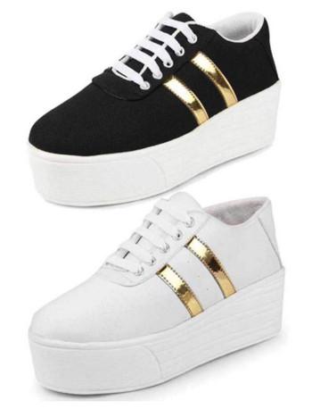 white black sneakers for women