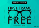 Get First Frame For Free With Your Lens