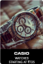 Casio Watches Starting At Rs 995 Only