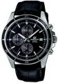 Casio Edifice Chronograph Black Dial Men's Watch