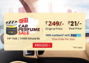 Droom Flash Sale 14th Feb: Get Car Perfume For Rs 21 Only